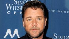 Russell Crowe talks Michael Jackson, prank phone calls & old alcoholics