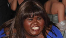 Was Gabourey Sidibe rude to several Washington reporters?