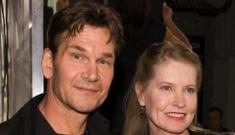 Patrick Swayze is  determined  to beat cancer, say family