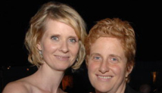 """Cynthia Nixon on her partner: """"She's like a short man with boobs"""""""