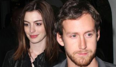 Anne Hathaway's new boyfriend might be a thief, just like the last one