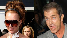 Britney Spears has dinner with Mel Gibson
