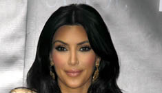 Kim Kardashian sprays Windex on her food so she won't eat it