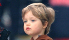 Shiloh Jolie-Pitt wants a military-themed 4th birthday party