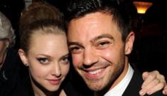 "Amanda Seyfried & Dominic Cooper ""on a break"" after Lindsay Lohan incident"