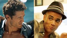 Glee's Matthew Morrison & Mark Salling shirtless in Vogue & GQ