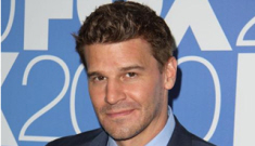 "David Boreanaz gave his wife a $30K ""I'm sorry I cheated"" present"