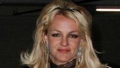 Britney Spears has a meltdown at Disneyland,  hacks off her hair