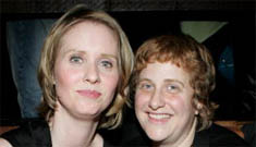 Cynthia Nixon on partner being 'short man w/ boobs': it was about her fashion