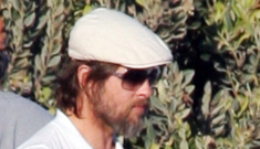 Brad Pitt, Angelina & the boys make a beach appearance in Malibu