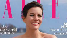 Liv Tyler's overly Photoshopped face on Tatler:   'I can't date'