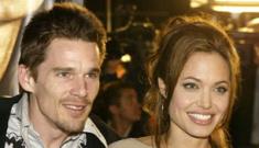 Did Angelina Jolie  homewreck Ethan Hawke &  Uma Thurman in 2003?