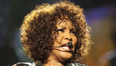 "Whitney Houston's weight is ""spiraling out of control"""