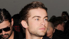 Chace Crawford arrested for possession – of one joint