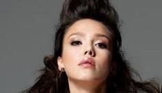 "Jessica Alba in ""the best editorial ever"" in Elle Korea"