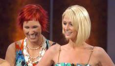 "Paris Hilton's unintential joke on ""Wetten, Das?"" she's ""very loyal, especially now"""
