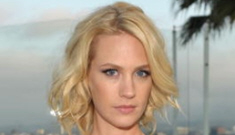 January Jones gets into 4-car wreck, leaves the scene (update: Bobby Flay?)
