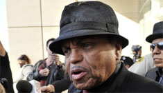 Joe Jackson calls Katherine responsible for MJ's death, gets ass handed to him