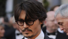 Johnny Depp saves extras from getting hit by a car