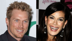 Hot new couple: Teri Hatcher and Jason Lewis?