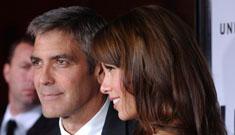 George Clooney says he never dated Renee Zelwegger
