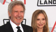 Harrison Ford & Calista Flockhart got married in New Mexico on Tuesday