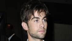 Chace Crawford's upper-class parents were upset with his pot bust