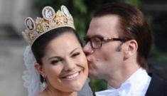 Sweden's Crown Princess Victoria weds after nine-year relationship