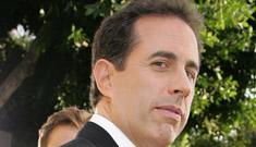 Jerry Seinfeld flips over his vintage Fiat, walks away fine