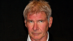 Harrison Ford wore Wrangler jeans to his wedding to Calista Flockhart
