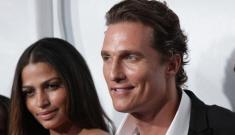Is Matthew McConaughey's girlfriend Camila Alves pregnant again?