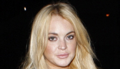 Lindsay Lohan should have bought something for a yeast infection