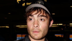 """""""Ed Westwick is deliciously furry"""" links"""