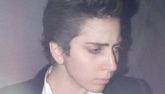 Lady Gaga dresses up like a dude, looks completely normal