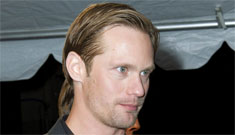 Alex Skarsgard loves being naked (potential past & future True Blood spoilers)