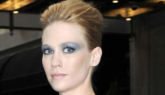 January Jones hopes we'll think she's boning Adrien Brody, not married Bobby Flay
