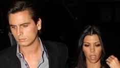 Kourtney Kardashian & Scott Disick are broke & living on credit cards