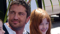 Gerard Butler saved a child from drowning