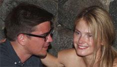 Does Josh Hartnett's gorgeous model girlfriend need makeup?