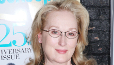Meryl Streep attached to Margaret Thatcher bio-pic, Thatcher family is pissed