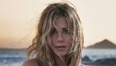 Jennifer Aniston poses topless for her new 'Lolavie' perfume ads