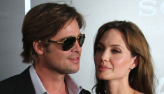 Angelina Jolie & Brad Pitt at the 'Salt' premiere: boring hotness?