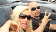 Ice-T arrested in NYC for not wearing his seatbelt, being totally gangster