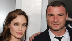 Does Liev Schreiber have a little crush on Angelina Jolie?