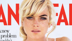 Lindsay Lohan did a photo shoot for Vanity Fair before going to jail