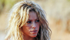 Shakira's hot pink bikini top & tutu: amazing or silly?