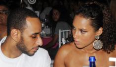 Alicia Keys & Swizz Beatz look miserable at weekend event