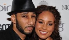 Alicia Keys' fiancée Swizz Beatz gets called out for being a deadbeat dirtbag dad
