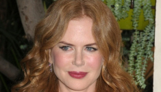 Is Nicole Kidman finally easing off of the Botox and lip injections?