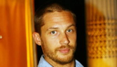 Is Tom Hardy trying to roll back all of that gay stuff?